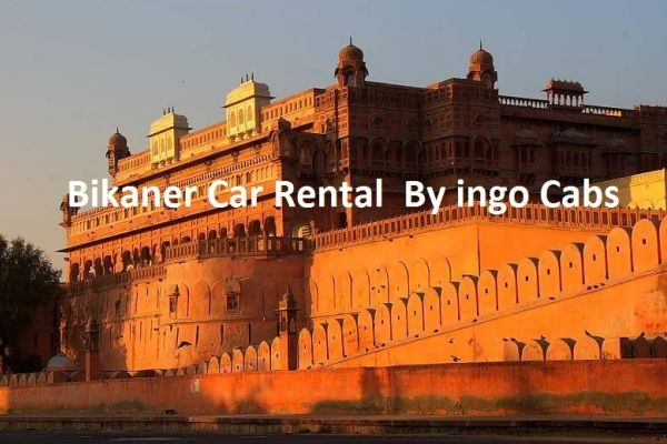 Bikaner taxi By ingo Cabs