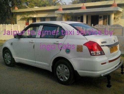 Jaipur To Ajmer Taxi Swift Dzire