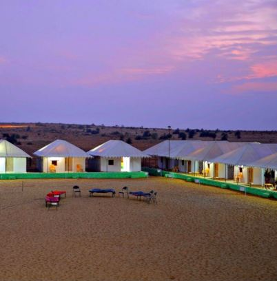 Jaisalmer Desert Camp Booking with ingo Cabs