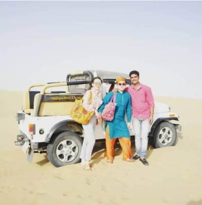Jaisalmer to Sam Special Jeep Safari Taxi