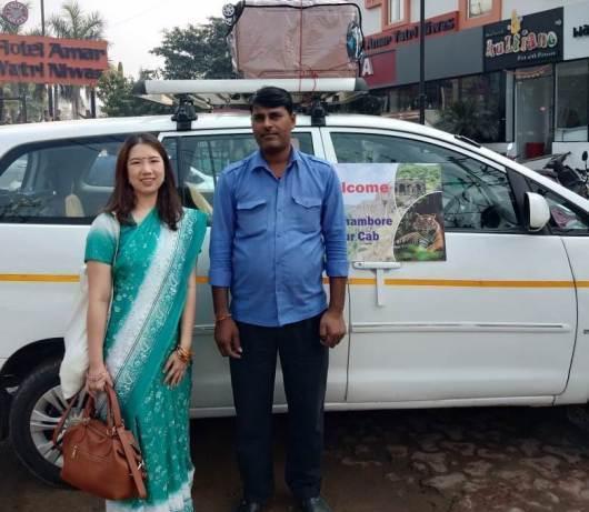 Jaisalmer taxi cab