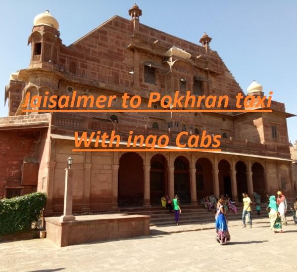 Jaisalmer to pokhran taxi