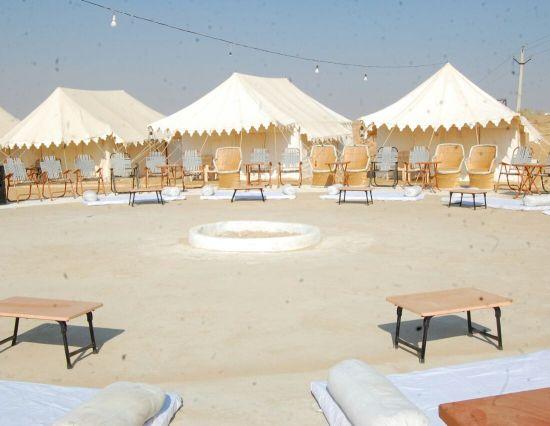Sam Dunes tents