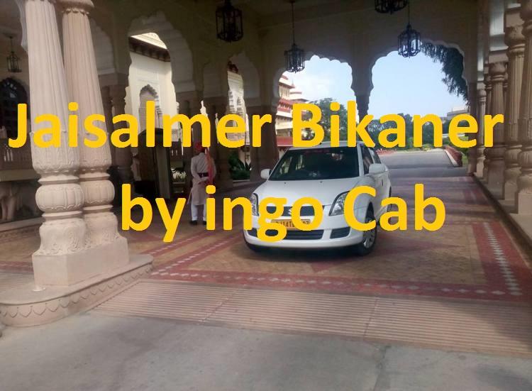 Jaisalmer To bikaner Taxi