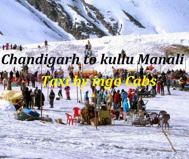 Chandigarh to kullu manali