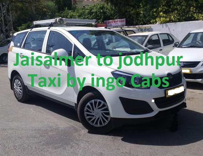 Jaisalmer to jodhpur taxi innova Crysta
