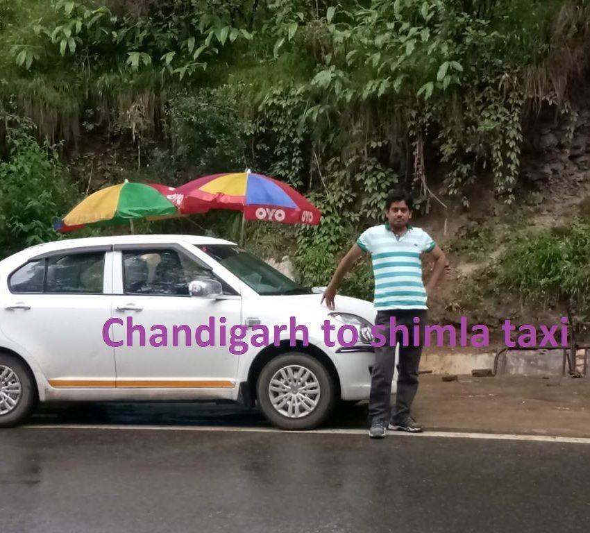 Chandigarh To Shimla Taxi